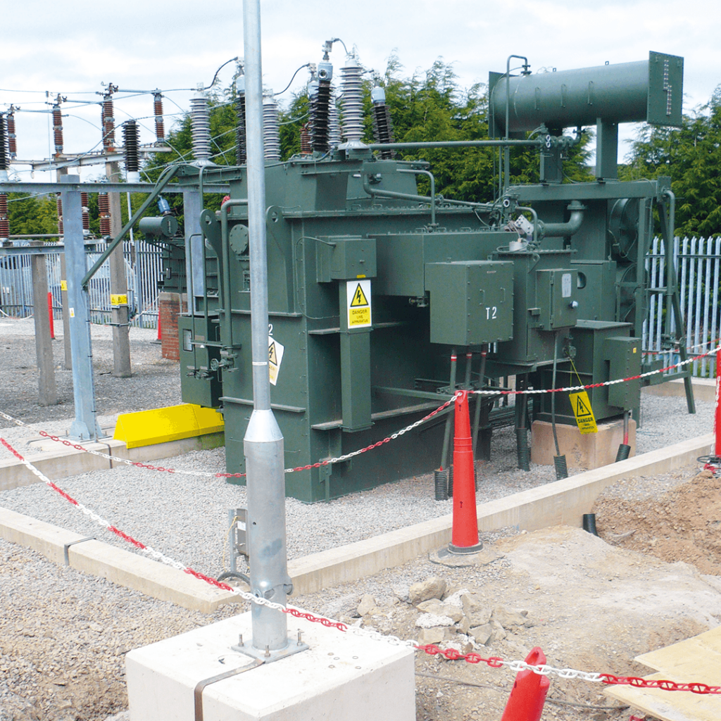 Building and Civil Engineering power station work