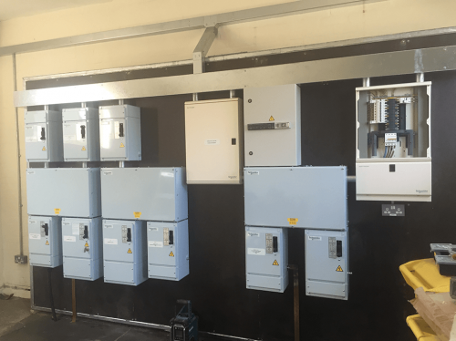 Closed Power Station Units