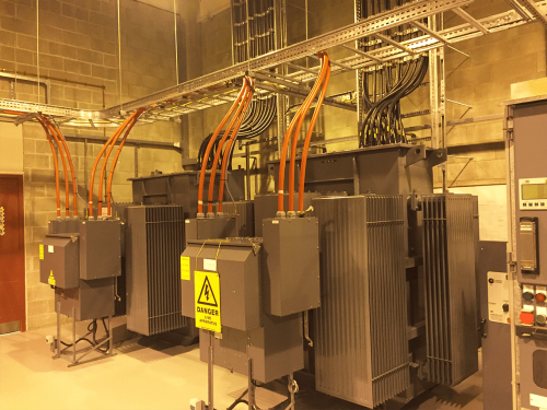 International Rectifier Transformer relocation